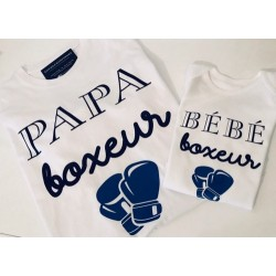 Duo Tshirt Papa / Body Bébé